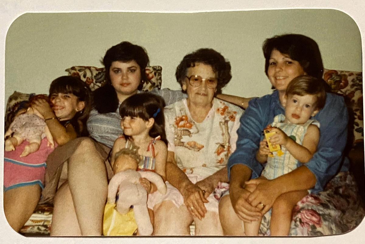 Barbara McKane and family