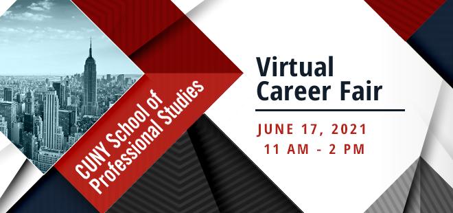 Virtual Career Fair June 17, 2021