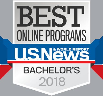 Best Bachelor's Degree Online Program badge