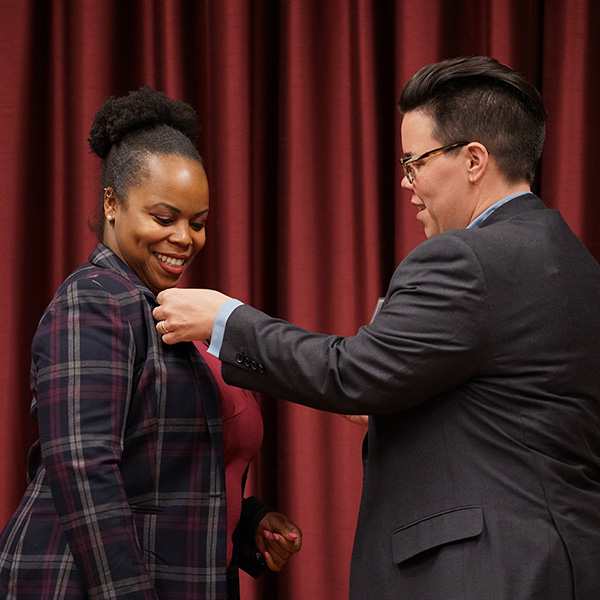 CUNY SPS Nursing Student Receives Her Honorary Pin