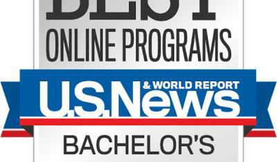 US News Best Online Bachelors Degree Programs logo