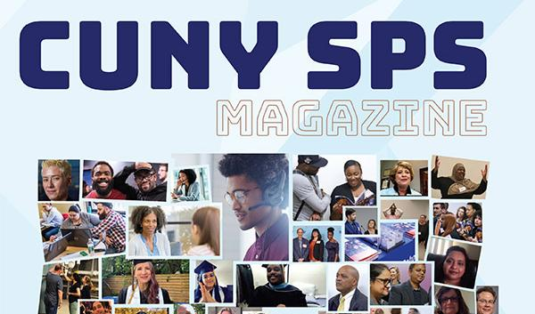 CUNY SPS Magazine 2019-20 Cover