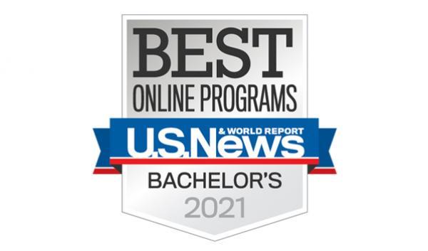 U.S. News & World Report 2021 Bachelor's Programs Badge