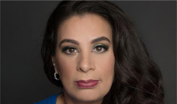 Photo of comedian and disability advocate Maysoon Zayid