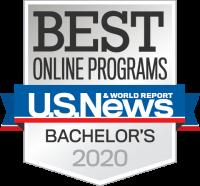 2020 U.S. News Best Online Programs badge