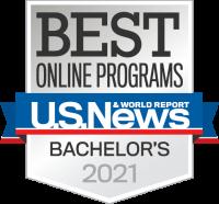 U.S. News & World Report 2021 Best Online Programs Badge
