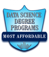 Most affordable data science degree programs badge