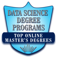 Data Science Degree Programs badge