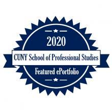 2020 CUNY SPS ePortfolio Showcase Logo