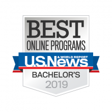 US News Best Online Bachelors Degree Programs logo