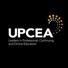 UPCEA Logo Black Background