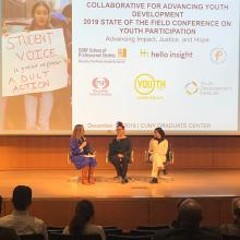 Youth Studies Program Co-Hosts Youth Participation Conference